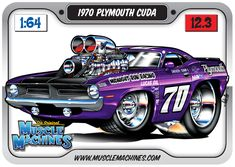 448 Best Cartoon Muscle Car Art Images On Pinterest Drawings Of