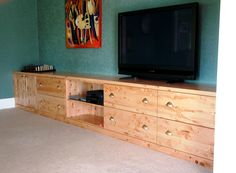 TV unit with space for everything