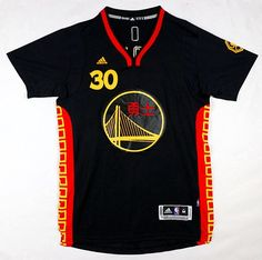... NBA Golden State Warriors Monkey Year 30 Stephen Curry Chinese New Year  2016 jersey black ... 82491e72a