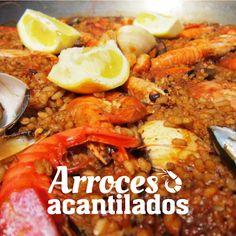 ¡Ummm qué rico! En nuestro restaurante el Pontet somos especialistas en #arroces: Arroz negro, a banda, de marisco, mixto, arroz del señoret.... ¿Con cuál te quedas?