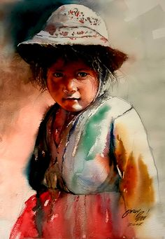Kids of the mountains by Rogger Oncoy.
