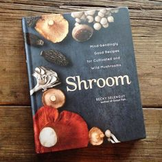 If you love mushrooms, this completely beautiful book should be added to your collection. Amazing recipes for beginners through chefs, organized by type of mushroom. Shroom by Becky Selengut