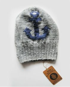 Fisherman's Friend Anchor Beanie no.1 Fisherman's Friends, Knitting Accessories, Cowl, Anchor, Winter Hats, Beanie, My Style, How To Wear, Stuff To Buy