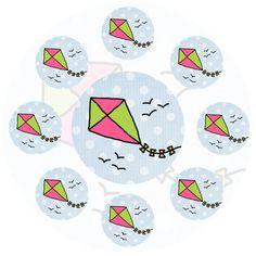 Stickers Zomer