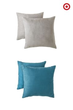 Did someone say pillows? Room Essentials Suede Pillows come in teal, yellow, grey and red, so you can change up your style every semester.