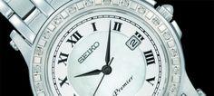 A SEIKO PREMIER apresenta dois modelos de elegância irrefutável para complementar os melhores outfits para o Réveillon.