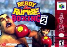 Ready to Rumble Boxing 2. Created By: Nintendo 64 - Foreword. Author: Nintendo And Midway. READY 2 RUMBLE BOXING ROUND 2 (NINTENDO N64 GAME CARTRIDGE VERSION). Players are able to compete in arcade-style boxing modes and fight for the championship belt, as well as participate in an enhanced championship option where they can take on the role of both a boxer and his manager. Genre: Racing. This Is For The Nintendo 64 Game Version. 31 weight, 280 width, 60 height, 650 length...