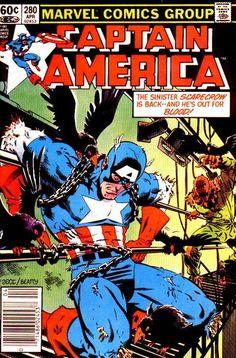 Captain America # 280 by Mike Zeck & John Beatty