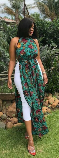 African print modern designs, African fashion, Ankara, kitenge, A. African Fashion Designers, African Fashion Ankara, Ghanaian Fashion, Latest African Fashion Dresses, African Dresses For Women, African Print Dresses, African Print Fashion, Africa Fashion, African Attire