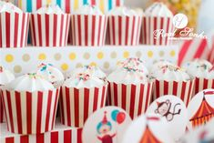 Festa Aniversário | Circo  birthday decoration // party decoration ideas // circus Decoration Party, Birthday, Cake, Desserts, Themed Parties, Ideas, Tailgate Desserts, Birthdays, Deserts