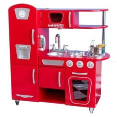 Kidkraft Vintage Red Kitchen