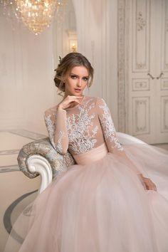 Свадебное платье «Фло» Татьяны Каплун— купить в Москве платье Фло из коллекции Примавера 2017 года