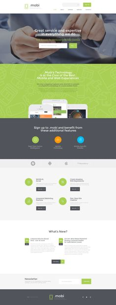 Domain Services Website Template