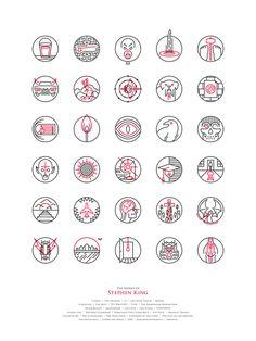Stephen King Art Exhibition - Design - ShortList Magazine. Click Thru For More Art.