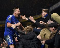 Chelsea 3 Everton John Terry nets minute equaliser to earn the London Blues a point in a pulsating second half in the clash at Stamford Bridge. Chelsea Fans, Chelsea Football, John Terry, Blues, Fc 1, Stamford Bridge, The Clash, London Blue, Everton
