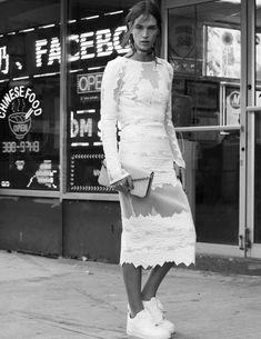 Crista Cober Looks For Vogue Spain February 2015