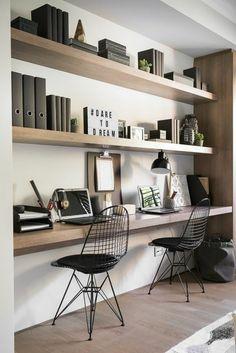 Indretning af hjemme kontor i små rum - bolig inspiration
