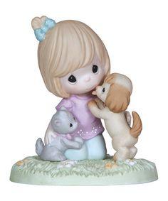 Look at this #zulilyfind! Fur-Ever Friends Figurine #zulilyfinds
