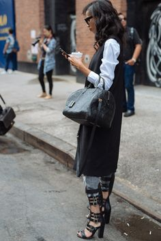The Best Bags of NYFW Spring 2016 Street Style – Days 2