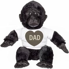 Monkey Dad Cuddly Bear