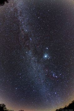 Below is one of his latest images of the wintery Milky Way: