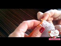 how to knit Horizontal Herringbone Stitch