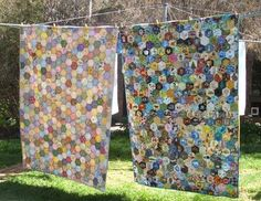 quilt hexagons designs - Google Search
