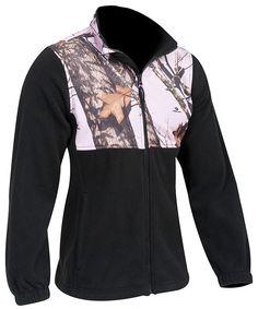 Mossy Oak Women's Casual Fleece Jacket