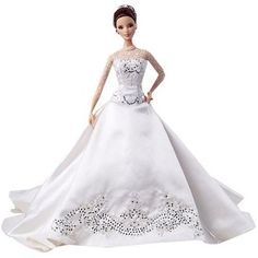 Bridal Barbie dolls have always been popular, and in recent years different wedding dress designers such as Vera Wang and Reem Acra have created stunning gowns for the dolls. Description from toys.lovetoknow.com. I searched for this on bing.com/images