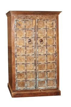 Items similar to Rustic Medieval Castle Cabinet Antique Doors Armoire Hand Carved Double Doors Storage Vintage Indi Boho Eclectic Furniture on Etsy Antique Armoire, Antique Doors, Old Doors, Reclaimed Wood Furniture, Rustic Furniture, Antique Furniture, Cabinet Furniture, Farmhouse Cabinets, Wooden Cabinets