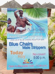 Blue Chair Puerto Vallarta the puerto vallarta gay beach - the blue chairs during easter week