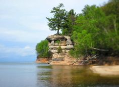 The most beautiful place in each of Michigan's 83 counties - mlive.com Pictured Rocks National Lakeshore, Picture Rocks, Island Park, Lake Huron, Michigan Travel, Upper Peninsula, Trip Advisor, Things To Do, Places To Go