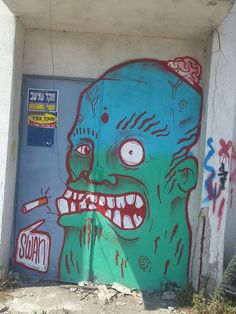 Painted by SWAN Photo:Dalis Rosentraub Haifa,2015