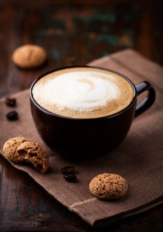 Find Cup Cafe Au Lait Tasty Cookies stock images in HD and millions of other royalty-free stock photos, illustrations and vectors in the Shutterstock collection. Coffee Snobs, Coffee Cafe, Holiday Drinks, Holiday Recipes, Cafe Cup, Coffee World, Coffee Corner, Latte Art, Yummy Cookies