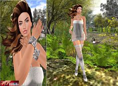 LISANA'S MODEL LIFE: IP Nails, Virtual Diva Couture, Isa D'Orable Creat...
