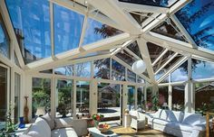 Light and spacious sun lounge - Mozolowski & Murray Conservatory, Lounge, Windows, Gallery, Interior, Airport Lounge, Drawing Rooms, Roof Rack, Indoor