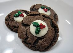 Worth Pinning: Chocolate Mint Cookies