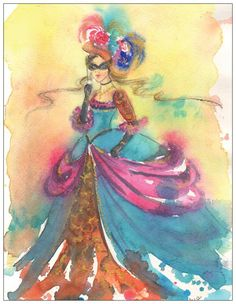 Venetian Carnival by silviadotti on Etsy
