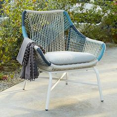 this huron corded outdoor furniture at west elm is bonkers pretty. would love to see a few more colors.