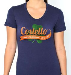 Custom Family Reunion t-shirts from Reunions magazine! Celebrate your family reunion in style!