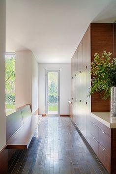 Modern Mud Room- floor