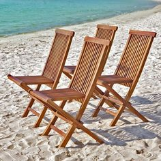 Lot of 4 garden chairs folding teak wood - size one size fits all. Garden Furniture Sets, Garden Chairs, Wood Sizes, Folding Chair, Teak Wood, House, Home Decor, Unique, Occasion