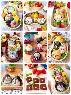 Japanese Bento Lunch Box, Bento Box Lunch For Kids, Bento Kids, Cute Lunch Boxes, Kawaii Bento, Cute Bento, Bento Recipes, Baby Food Recipes, Bento Tutorial