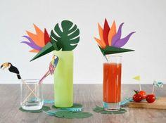 décoration tropicale
