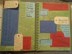 Quotes page-smash book