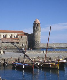Collioure, near Perpignan. Where Matisse painted and we ate fresh salamis for a weekend.