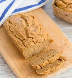 Flourless Peanut Butter Bread - Kirbie's Cravings