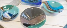 Fused glass - small bowls