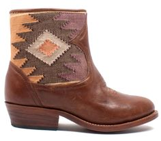 Mix and match these handwoven fabric booties with jean skinnies or a flowy summer dress! www.mooreaseal.com