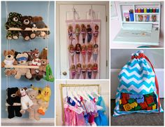 26 Ways to Organize Toys in Small Spaces